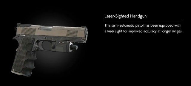 Evil Within 2 Laser Sighted Handgun Weapon Location