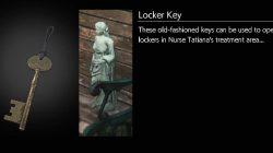 Evil Within 2 Locker Key