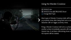 Evil Within 2 Warden Crossbow Weapon