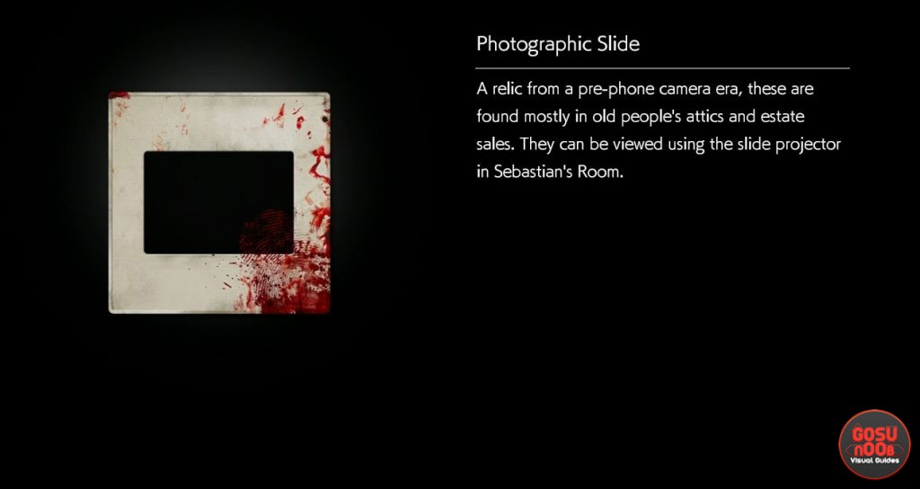 Evil Within 2 Where to Find Photographic Slides
