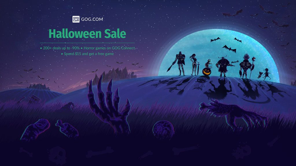 GOG.com Halloween Sale Now Live, Includes Darkest Dungeon & More
