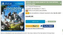 GOTY Edition Horizon Zero Dawn Leaked