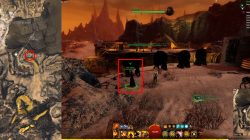 GW2 Ahel Nakat NPC Location Order of Shadows Jackal Treat