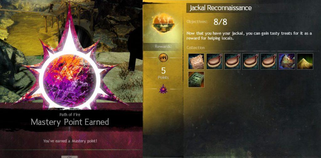 GW2 Jackal Reconnissance Achievement Guide