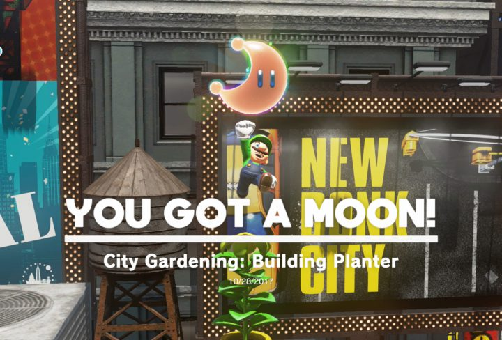 Metro kingdom power moon 21 city gardening building planter seed SMO