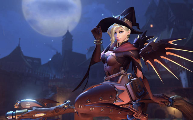 Overwatch New Update Introduces Changes to Mercy & Lucio