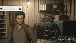 Rogue Signal Evil Within 2 Backup Aint Coming Trophy location