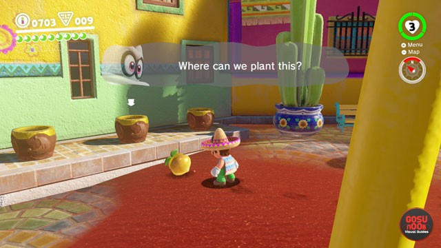 Super Mario Odyssey Sand Kingdom Seeds Locations