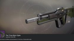 Time-Worn Spire Exotic Pulse Rifle