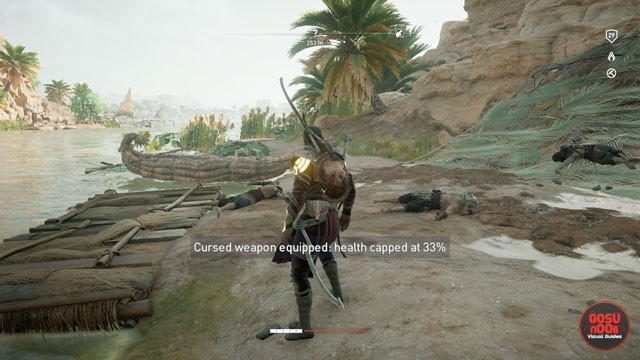AC Origins Best Weapons - How to Get Cursed Weapon | 640 x 360 jpeg 66kB