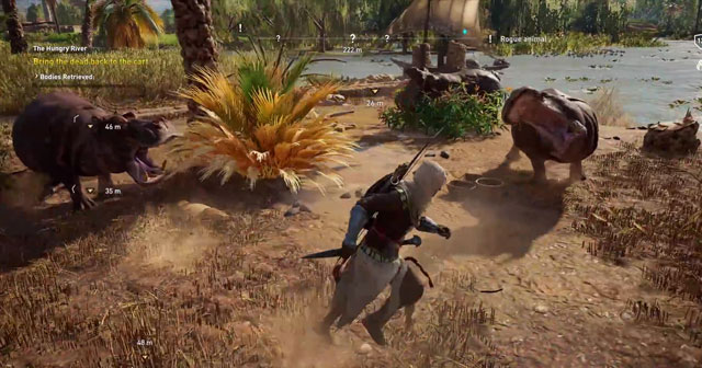 ac origins hungry river side quest