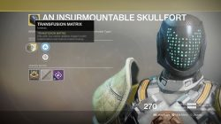 Destiny 2 Xur Insurmountable Skullfort
