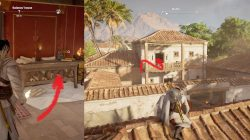 AC Origins Galenos' House Find Papyrus Puzzle