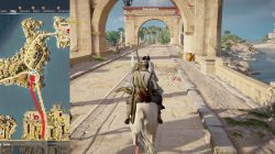 AC Origins Odyssey Escort The Priest to the Northern Temple