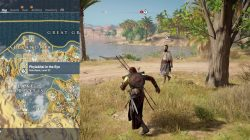 AC Origins Phylakitai in the Eye Side Quest