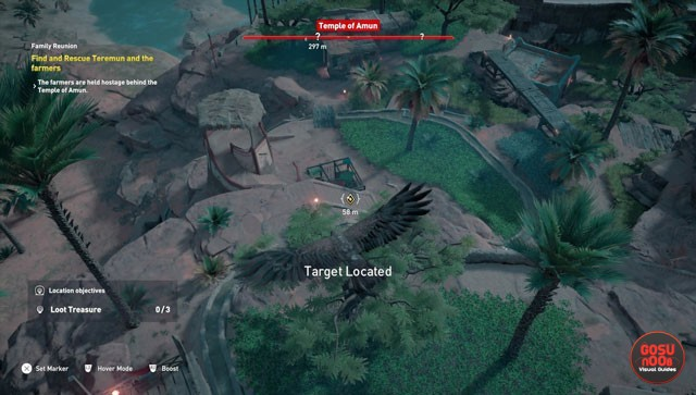 AC Origins Prisoners in the Temple Side Quest - Fifth Priest Bug