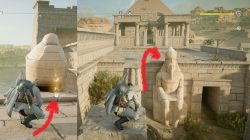 AC Origins Sobek's Rage Papyri Loot Location