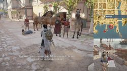 AC Origins The Shifty Scribe Bring Aristo to the Port