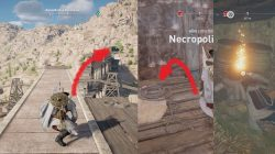 AC Origins Wet Work Papyrus Puzzle Solution