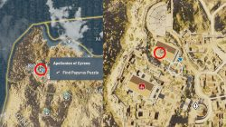 Appolonion of Cyrene Find Papyrus Puzzle AC Origins