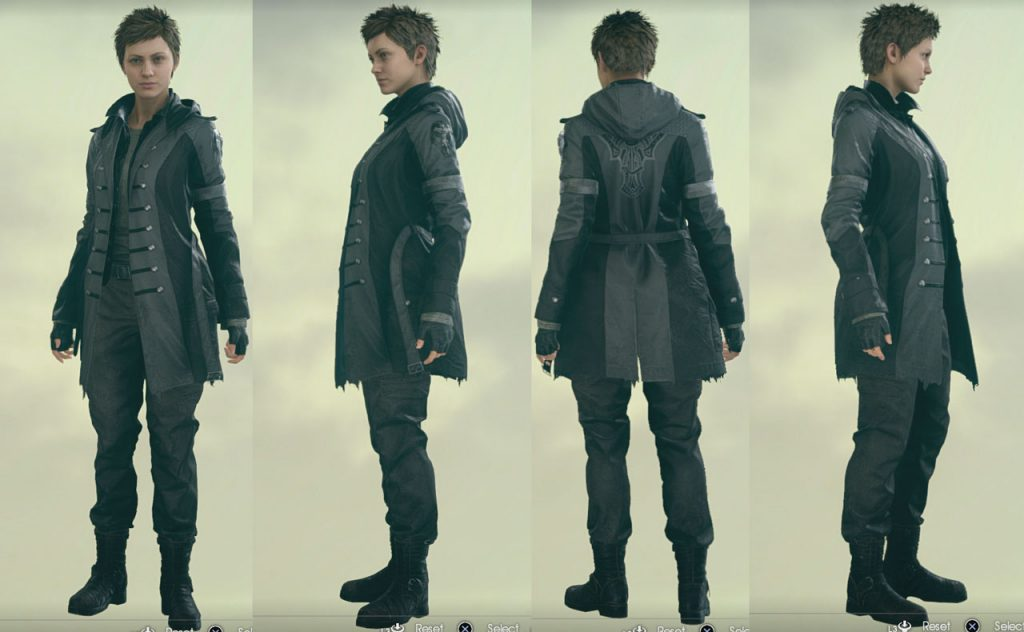 FFXV Comrades How to Change Outfit and Customize Character Attire