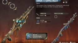 HZD Frozen Wilds Banuk Stormslinger Weapon