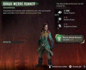 HZD Frozen Wilds DLC Banuk Werak Runner Outfit