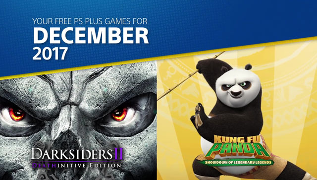 PS Plus December 2017 Free Games Include Darksiders 2