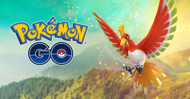 Pokemon GO Introduces Ho-Oh as Raid Battle Boss