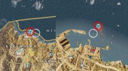 Undue Haste Papyrus Puzzle Map Marked Solution AC Origins