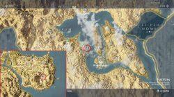 ac origins blasphemer papyrus location