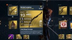 barbed longbow weapon ac origins dlc nightmare pack