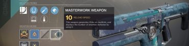 destiny 2 december update masterwork weapons