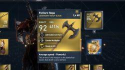 forlorn hope heavy blade ac origins nightmare pack