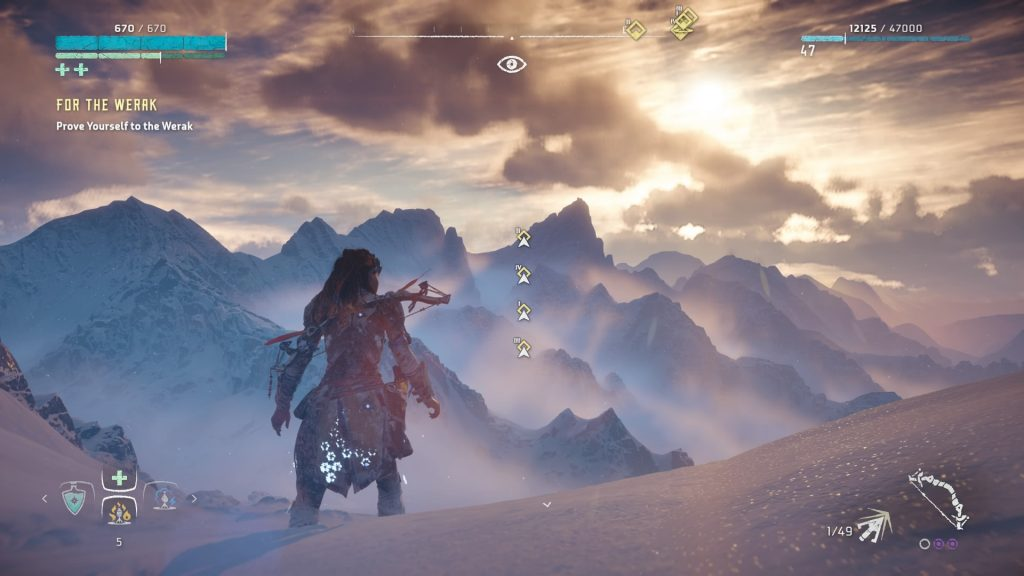 horizon zero dawn frozen wilds dlc review