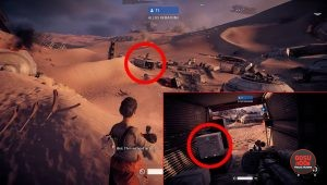 where to find collectible battlefront 2 mission 11 battle of jakku