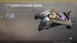 Kabr's Glass Aegis