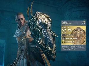 AC Origins FFXV Shield Ziedrich Legendary