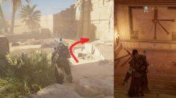 AC Origins Gift from Gods Explora el objetivo de la tumba