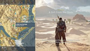 AC Origins Regalo de Gods Quest