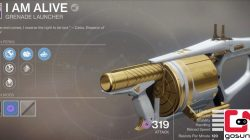 Destiny 2 Grenade Launcher I am Alive