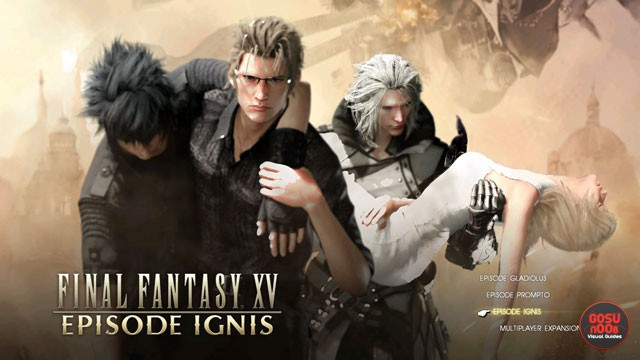 FFXV How to Start Episode Ignis DLC