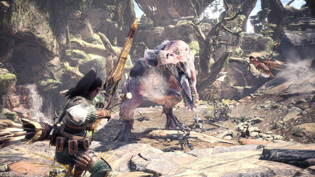 Monster Hunter World Second Beta Starts Next Week