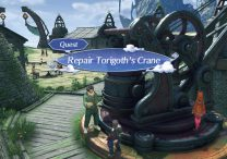 Xenoblade Chronicles 2 Torigoth's Crane - Where to find Winding Gear