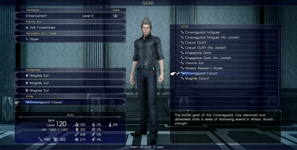 ffxv episode ignis rewards unlocks