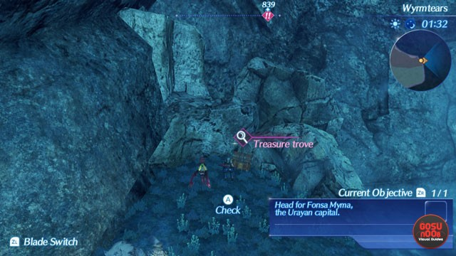 xenoblade chronicles 2 lockpicking