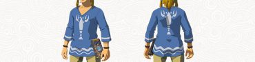 zelda botw island lobster shirt garb of winds quest