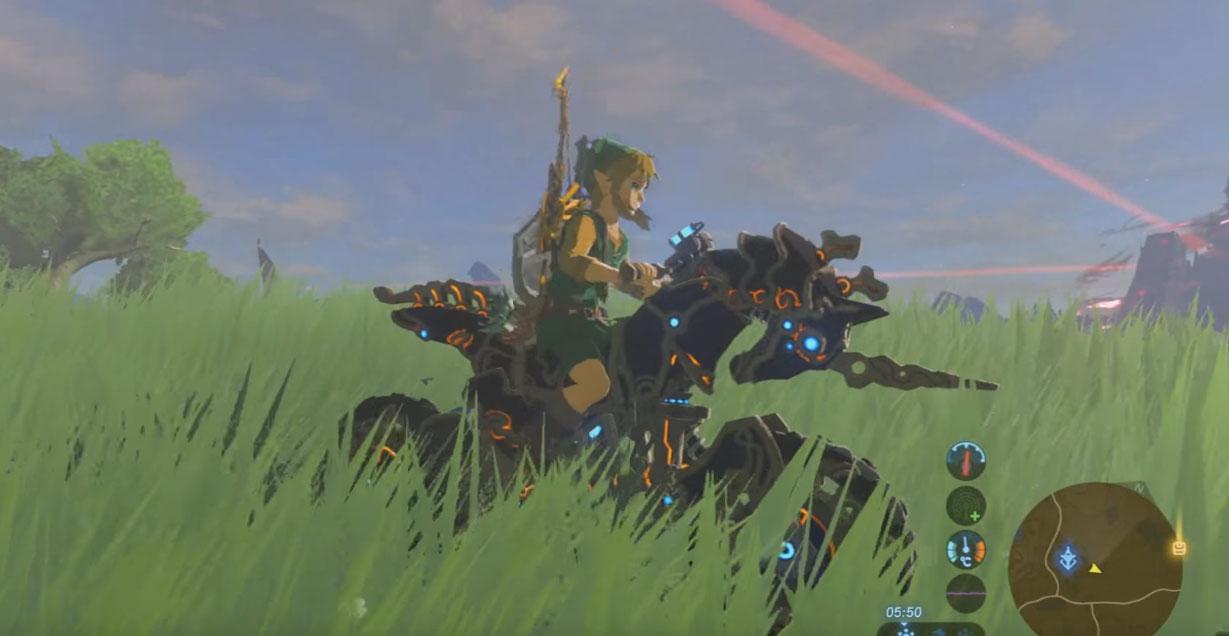 Zelda Breath Of The Wild Master Cycle: Zelda BoTW Master Cycle Zero