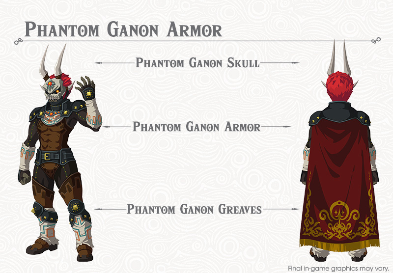Zelda Botw Phantom Ganon Armor Location Dark Armor Quest