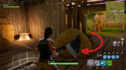 Fortnite BR Loot Chest Location at Anarchy Acres ZOne